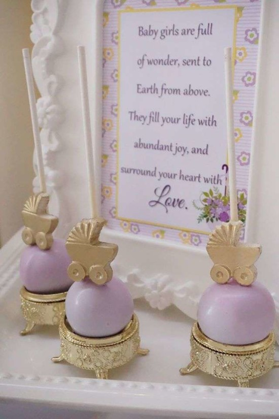 Elegant-Yellow-and-Purple-Baby-Shower-Art-Decor