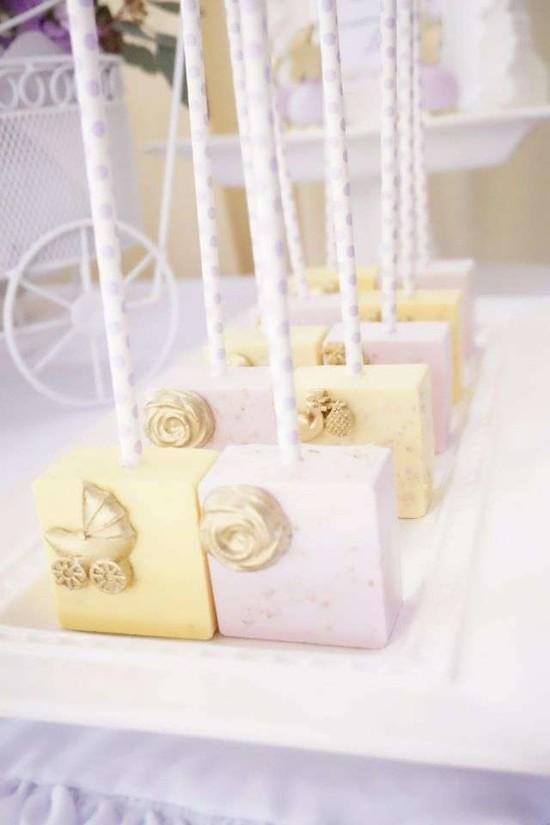Elegant-Yellow-and-Purple-Baby-Shower-Treats-Pastel