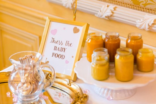 Golden-Carrousel-Babyshower-Baby-Food-Game