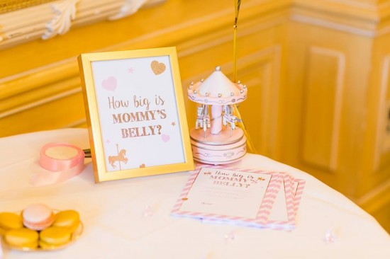 Golden-Carrousel-Babyshower-Games-Decorations