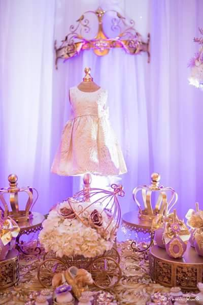 Golden-Enchanting-Princess-Baby-Shower-Dress