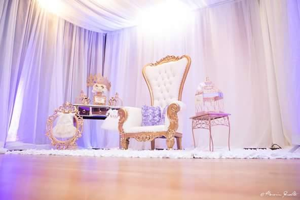 Golden-Enchanting-Princess-Baby-Shower-Throne