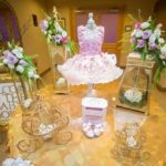 Golden Enchanting Princess Baby Shower
