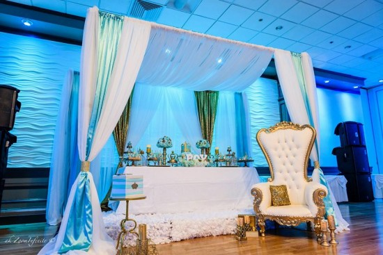 Golden-Glamorous-Prince-Baby-Shower-Canopy