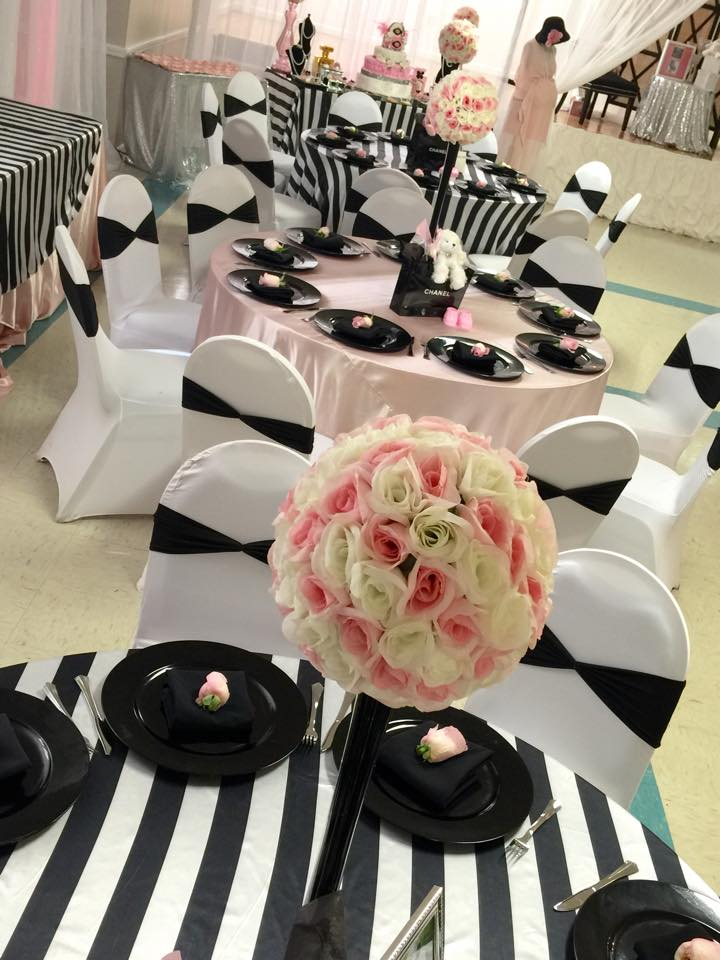 Modern Chic Chanel Baby Shower Baby Shower Ideas Themes Games
