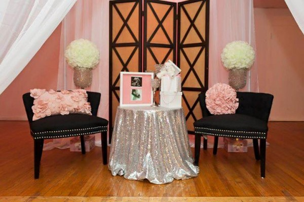 Modern-Chic-Chanel-Baby-Shower-Vip-Seating