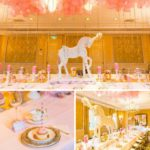 Pink and Gold Carousel Baby Shower