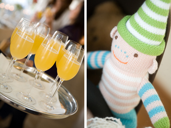 Whimsical-Beach-Inspired-Baby-Shower-Sock-Monkey-Drinks