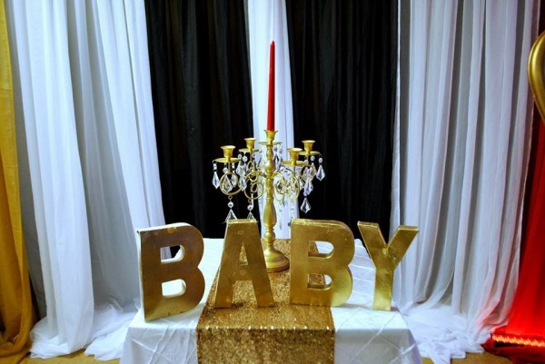 Chic-Hollywood-Red-Carpet-Baby-Shower-Baby-Letters