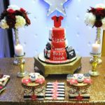 Chic Hollywood Red Carpet Baby Shower