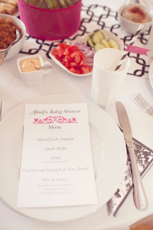 Chic-Pamper-Me-Baby-Shower-Menu