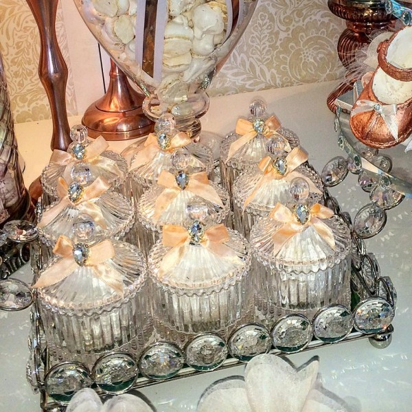 Floral-Copper-Baby-Shower-Glass-Jars