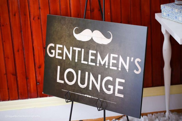 Sophisticated-Mustaches-And-Bows-Baby-Shower-Gentlemens-Lounge