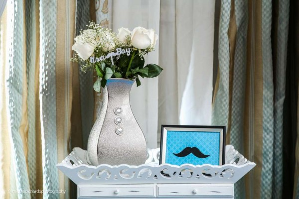 Sophisticated-Mustaches-And-Bows-Baby-Shower-Mustache-Decor