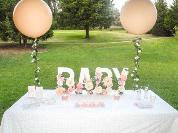 A Baby Is Brewing Tea Party Shower Dessert-Table