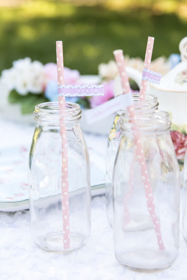 Floral-Tea-Party-Shower-Polka-Dot-Straws