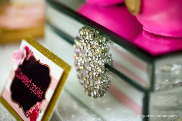 Pink-And-Black-Floral-Baby-Shower-Jewels