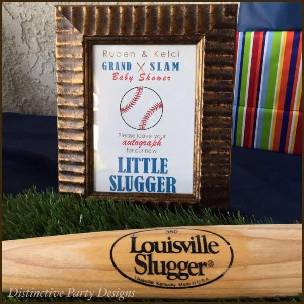 Classic-Baseball-Baby-Shower-Autograph-Art