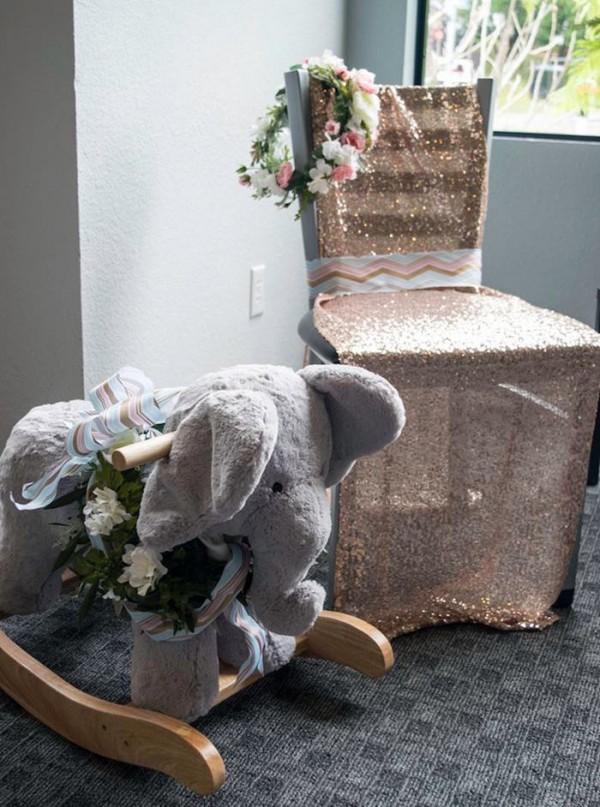 Contemporary-Safari-Baby-Shower-VIP-Seating
