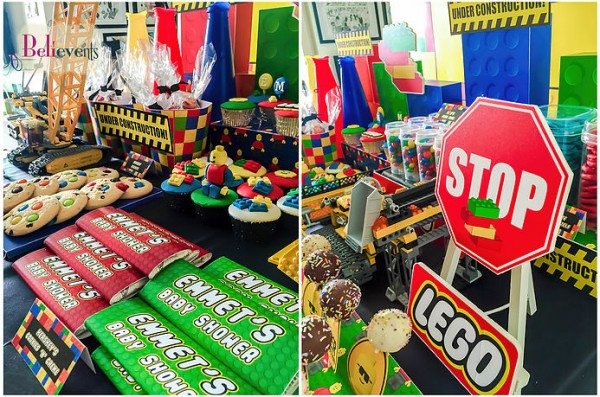 Lego-Construction-Baby-Shower-Chocolate-Bars