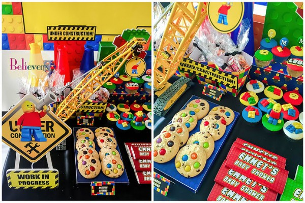 Lego-Construction-Baby-Shower-Cookies