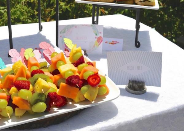 Modern-Boho-Baby-Shower-Fruit-Kabob