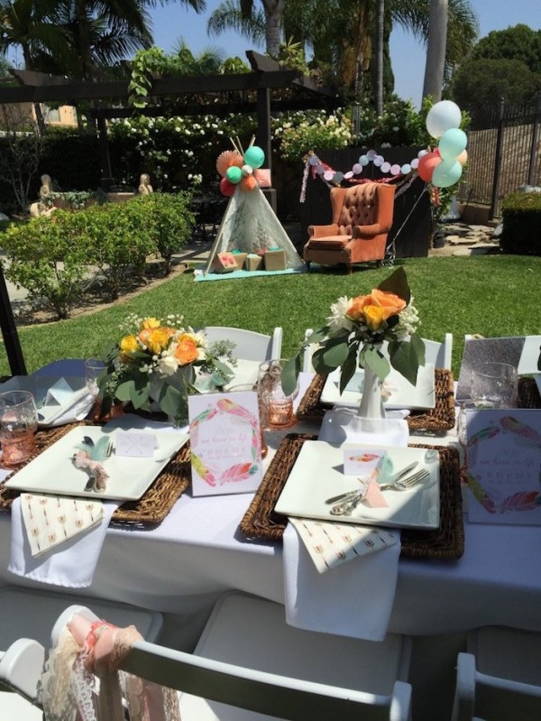 Modern-Boho-Baby-Shower-Outdoor-Vip-Seating