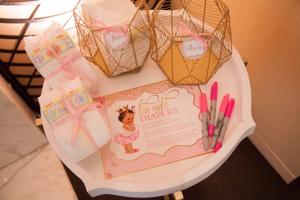 Pink-And-Gold-Tutu-Cute-Baby-Shower-Diaper-Fun