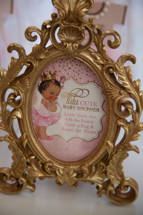 Pink-And-Gold-Tutu-Cute-Baby-Shower-Framed-Art