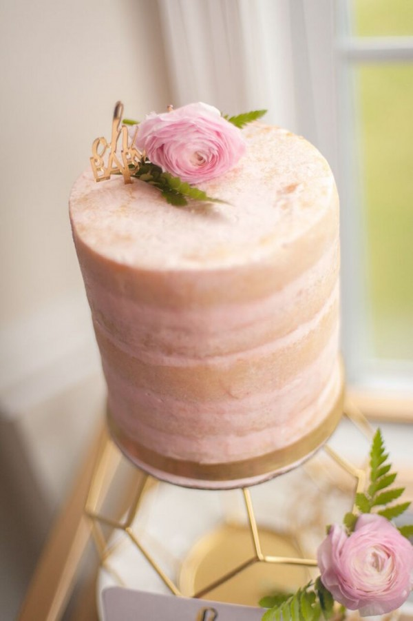 Whimsical-Geometric-Baby-Shower-Cake