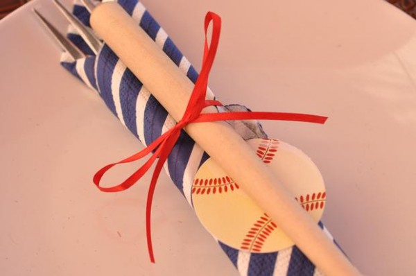 vintage-baseball-baby-shower-guest-table-cutlery-decor