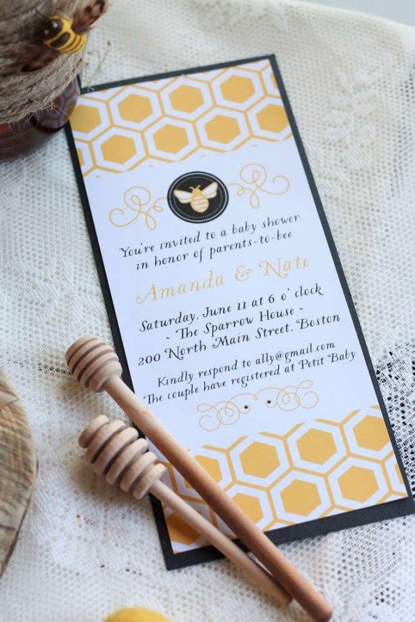 Bright-Bee-Loved-Baby-Shower-Invitations