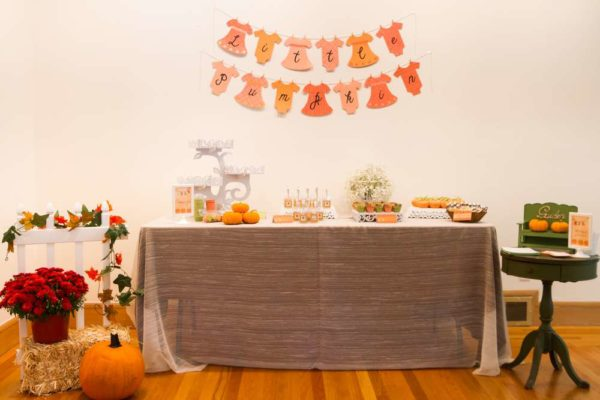Festive-Little-Pumpkin-Baby-Shower-Buffet
