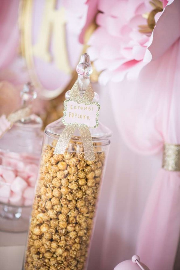 Shimmering-Pink-And-Gold-Baby-Shower-Popcorn
