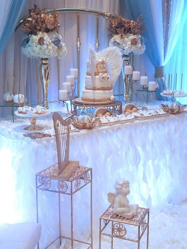 Baby Boy Angel Shower Baby Shower Ideas Themes Games