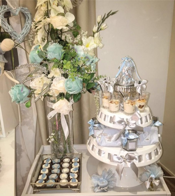 Charming-Silver-Blue-Sky-Baby-Shower-Pudding