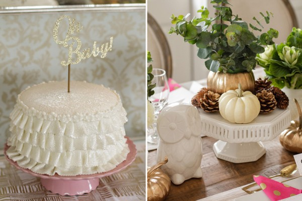 Chic-Winter-Wonderland-Baby-Shower-Cake