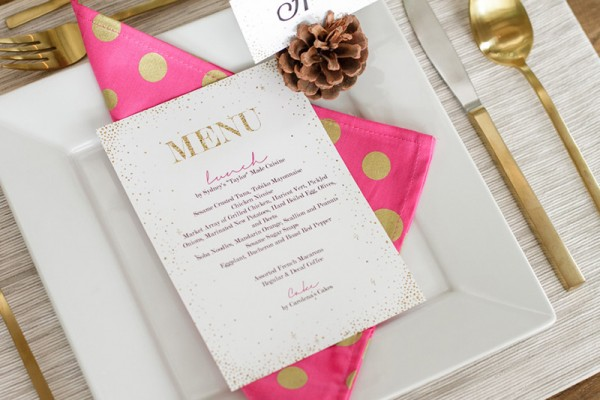 Chic-Winter-Wonderland-Baby-Shower-Menu