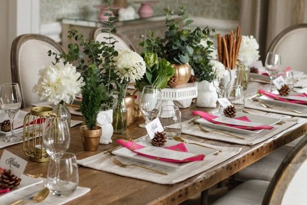 Chic-Winter-Wonderland-Baby-Shower-Place-Settings