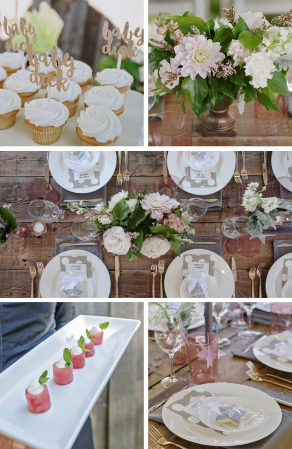 Floral Backyard Baby Shower