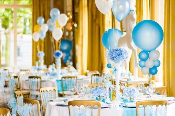 Golden Carousel Babyshower-Balloons