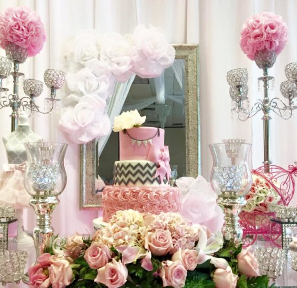 Sparkles And Roses Baby Shower Baby Shower Ideas