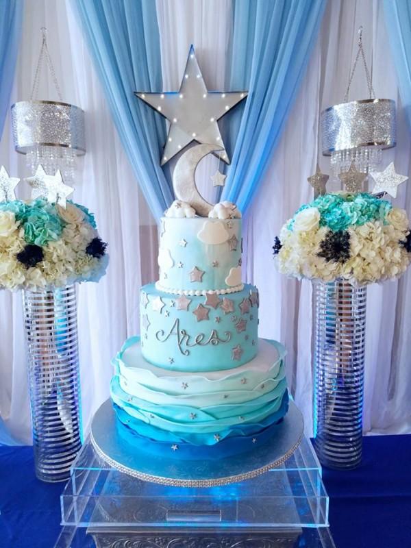 Fiesta Baby Shower Cake