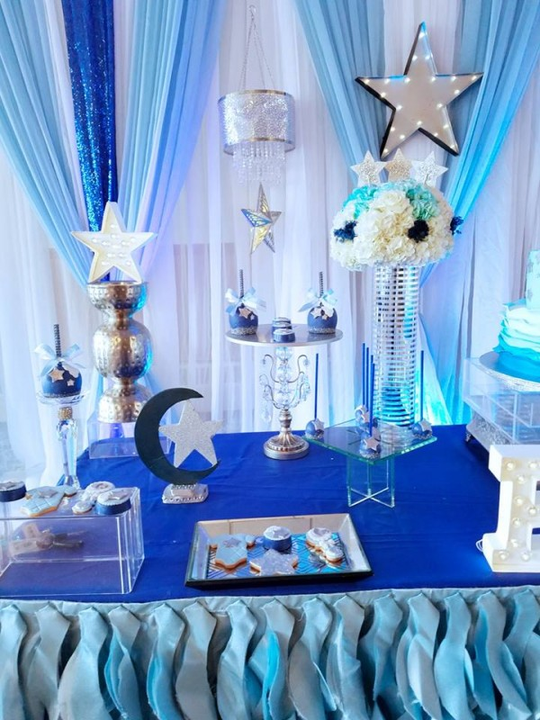 Starry Night Baby Shower Baby Shower Ideas 4u