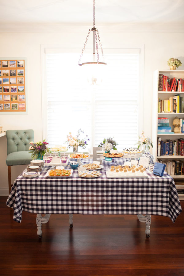 blueberry-baby-shower-snack-table