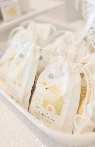 chevron-elephant-baby-shower-chocolate-covered-cashews