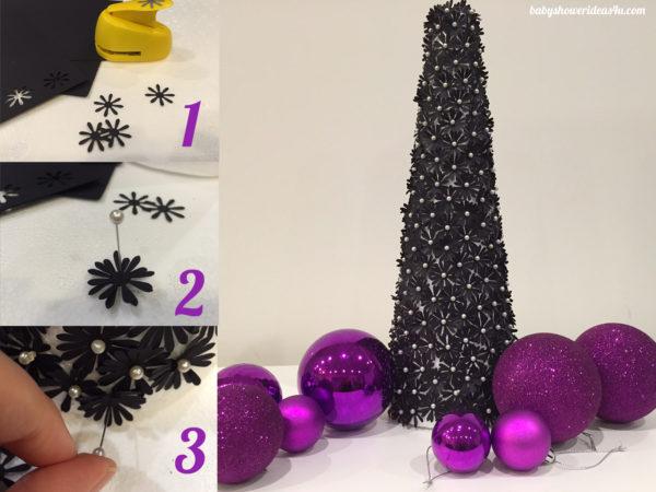 diy-paper-flower-christmas-tree-making