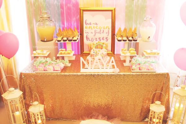 glamorous-unicorn-baby-shower-edibles