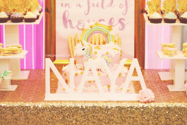 glamorous-unicorn-baby-shower-letters