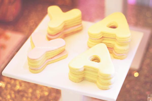 glamorous-unicorn-baby-shower-tower-cookies
